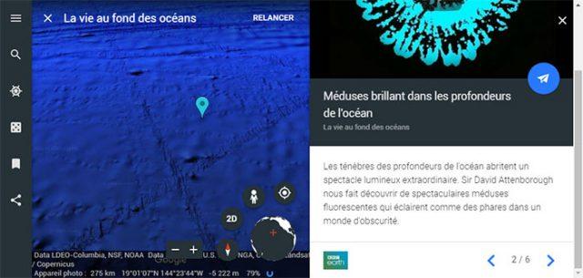 Balade dans les profondeurs de l'océan