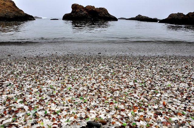 La plagede verre en Californie, États-Unis