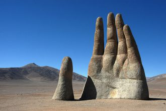 La MainduDésert, en Chili