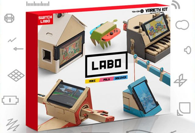 apr s les fausses nes classic mini les faux kits nintendo labo. Black Bedroom Furniture Sets. Home Design Ideas