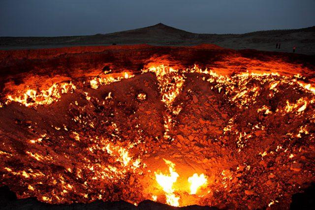 Porte de l'Enfer du Turkménistan