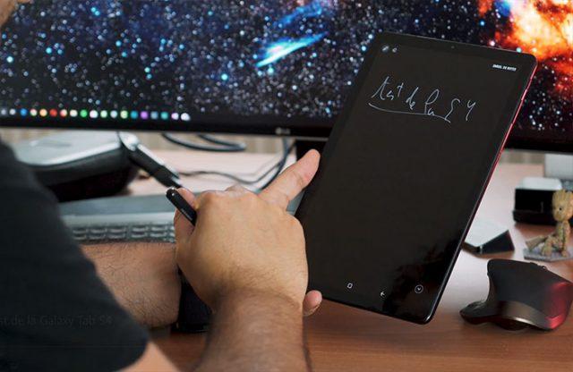 Test de la Galaxy Tab S4 : image 13
