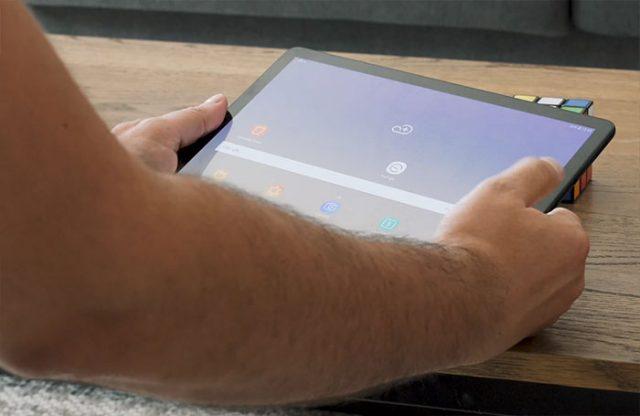 Test de la Galaxy Tab S4 : image 3