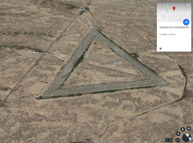 Le triangle Géant d'Arizona