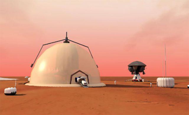 Igloo Mars