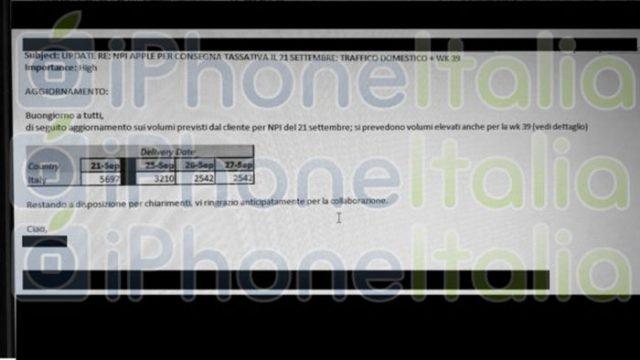 iPhone Italie