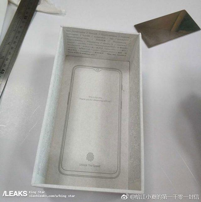 Boîte OnePlus 6T : image 3