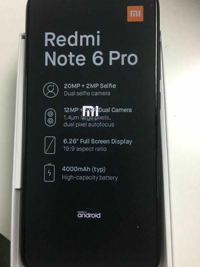 Xiaomi Redmi Note 6 : image 3