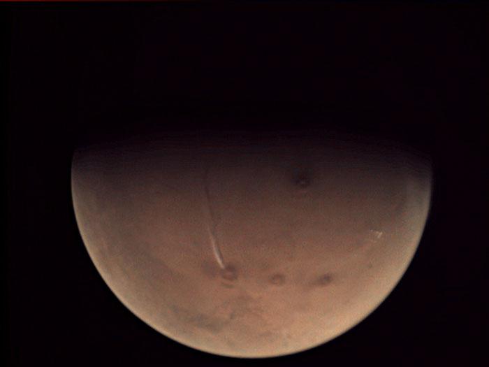 La planète Mars n'est finalement pas aussi morte qu'on le croyait