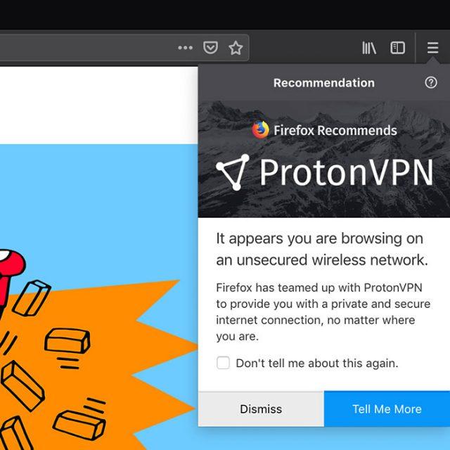 Firefox VPN : image 1