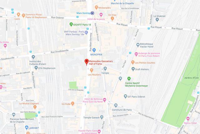 Google Maps Mamoudou