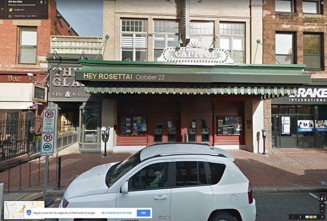 Le Théâtre Capitol à Moncton, au Nouveau-Brunswick
