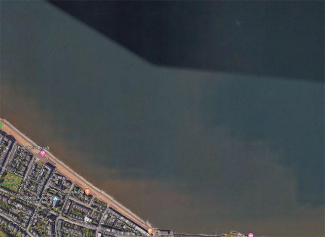 Avion Google Maps