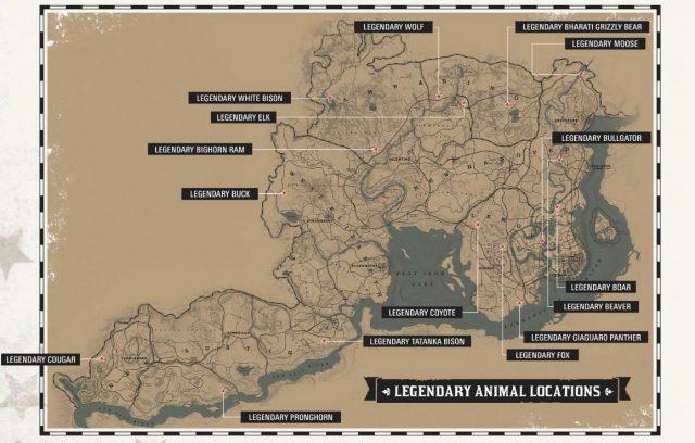 carte-animaux-legendaires-rdr2