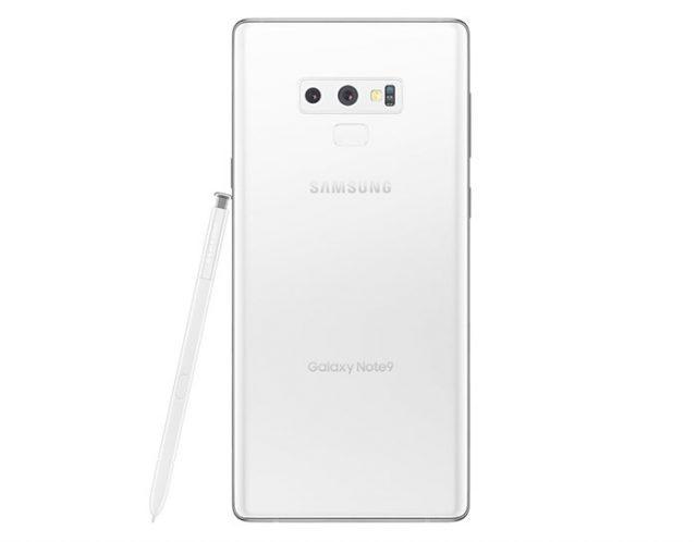 Galaxy Note 9 blanc