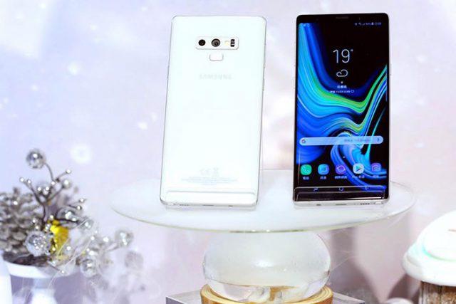 Galaxy Note 9 blanc : image 1