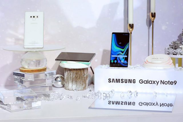 Galaxy Note 9 blanc : image 2