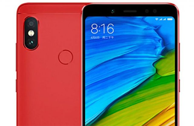 Xiaomi Redmi Note 5 RED