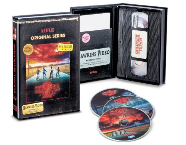 Coffret Stranger Things