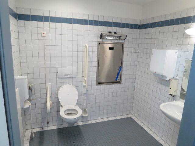 Des toilettes parfaitement ordinaires
