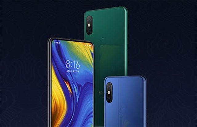 Xiaomi Mi Mix 3 Vert Emeraude