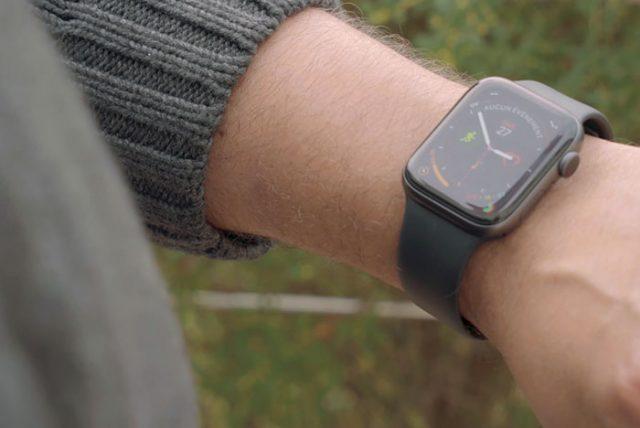 Test de l'Apple Watch Series 4 : image 1