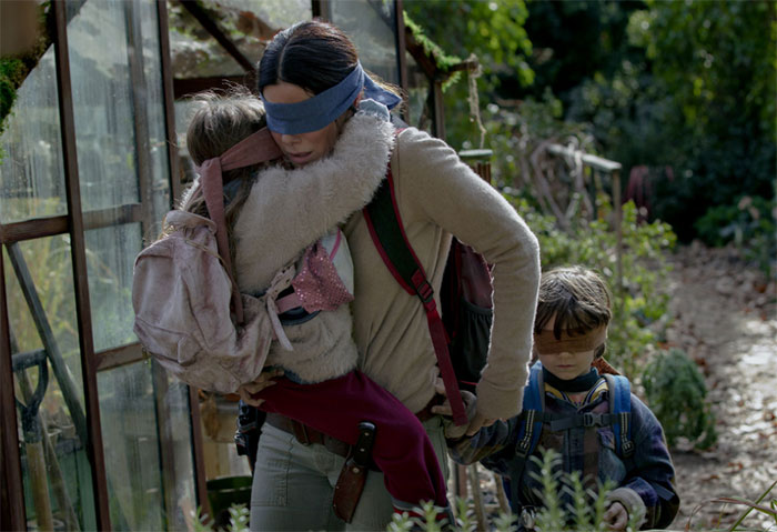 Youtube interdit les challenges dangereux — Bird Box Challenge