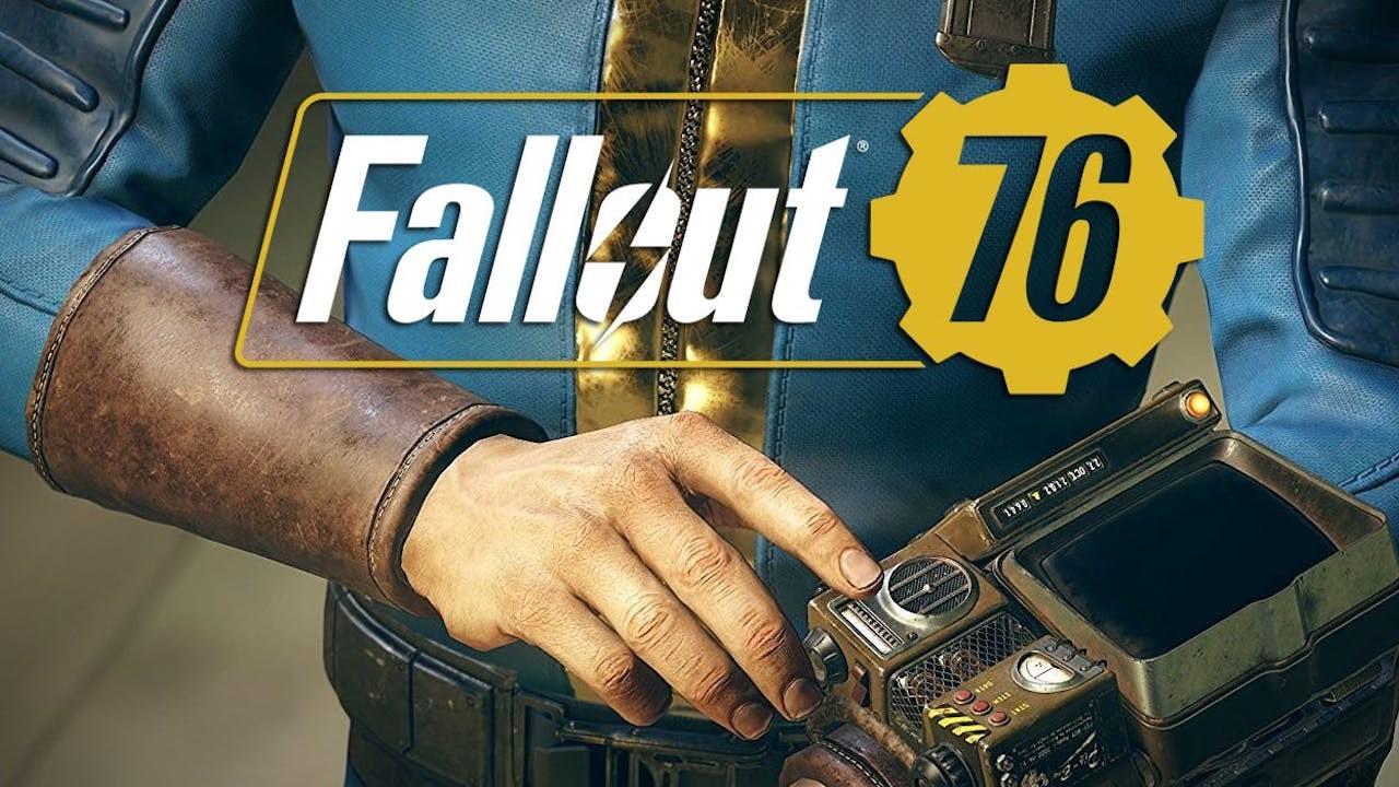 Une affiche consacrée à Fallout 76