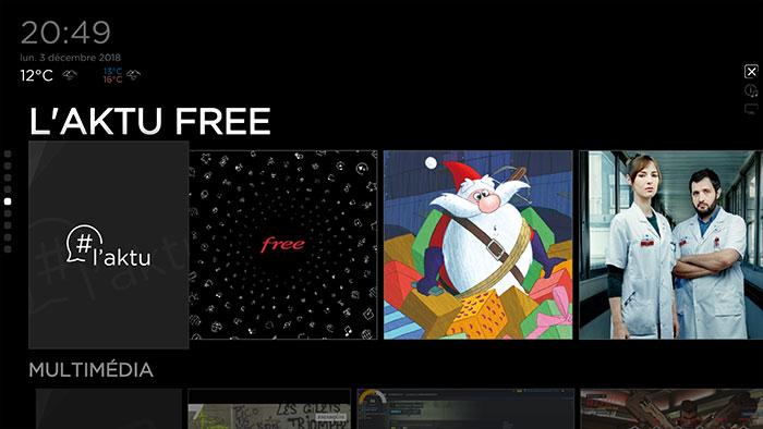 Interface Freebox : image 3