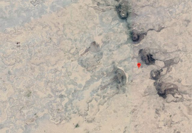 Google Maps Volcans