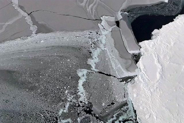NASA Antarctique