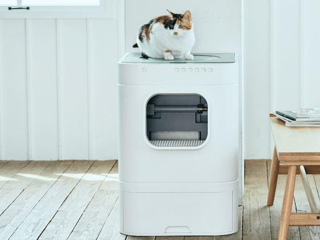 ces2019 lavviebot la liti re pour chats autonettoyante. Black Bedroom Furniture Sets. Home Design Ideas