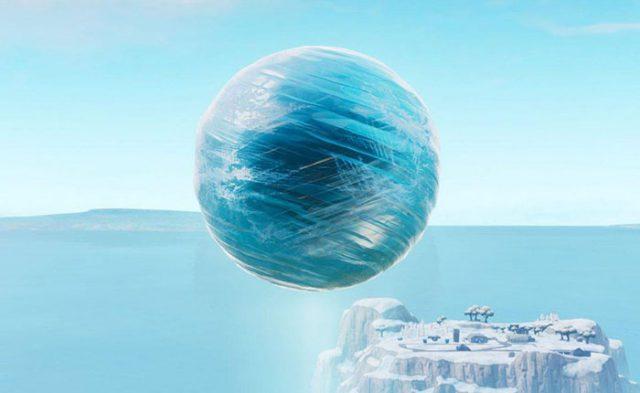 Boule Glace Fortnite