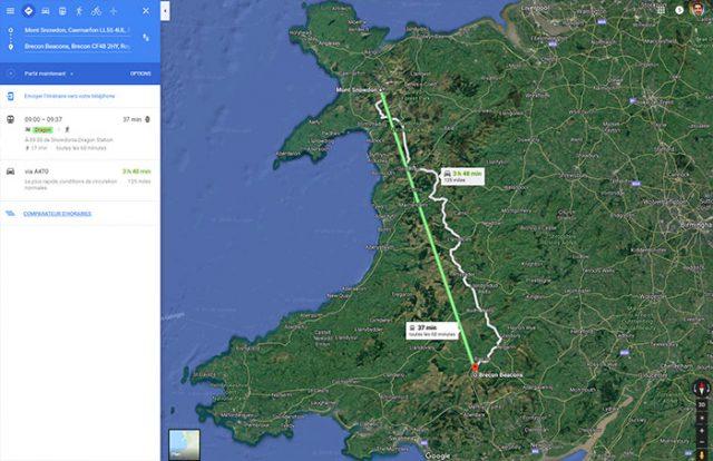 Google Maps : easter egg 4
