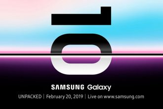 Invitation Galaxy s10