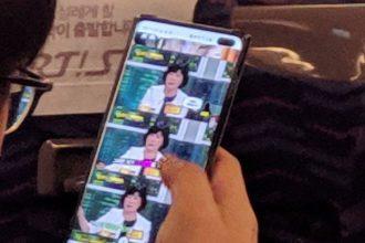 Galaxy S10+ leak