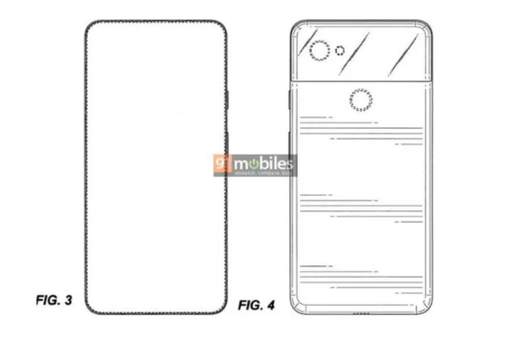 Un brevet révèle un Google Pixel sans encoche avec un écran aux fines bordures