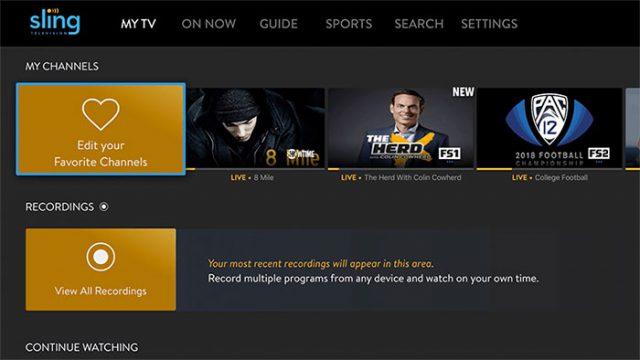 Sling TV : image 3