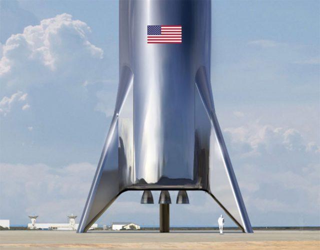 Elon Musk dévoile le style rétro de Starship — SpaceX