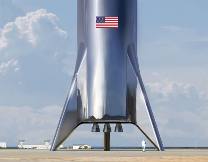 SpaceX a choisi les neuf zones d'atterrissage sur Mars