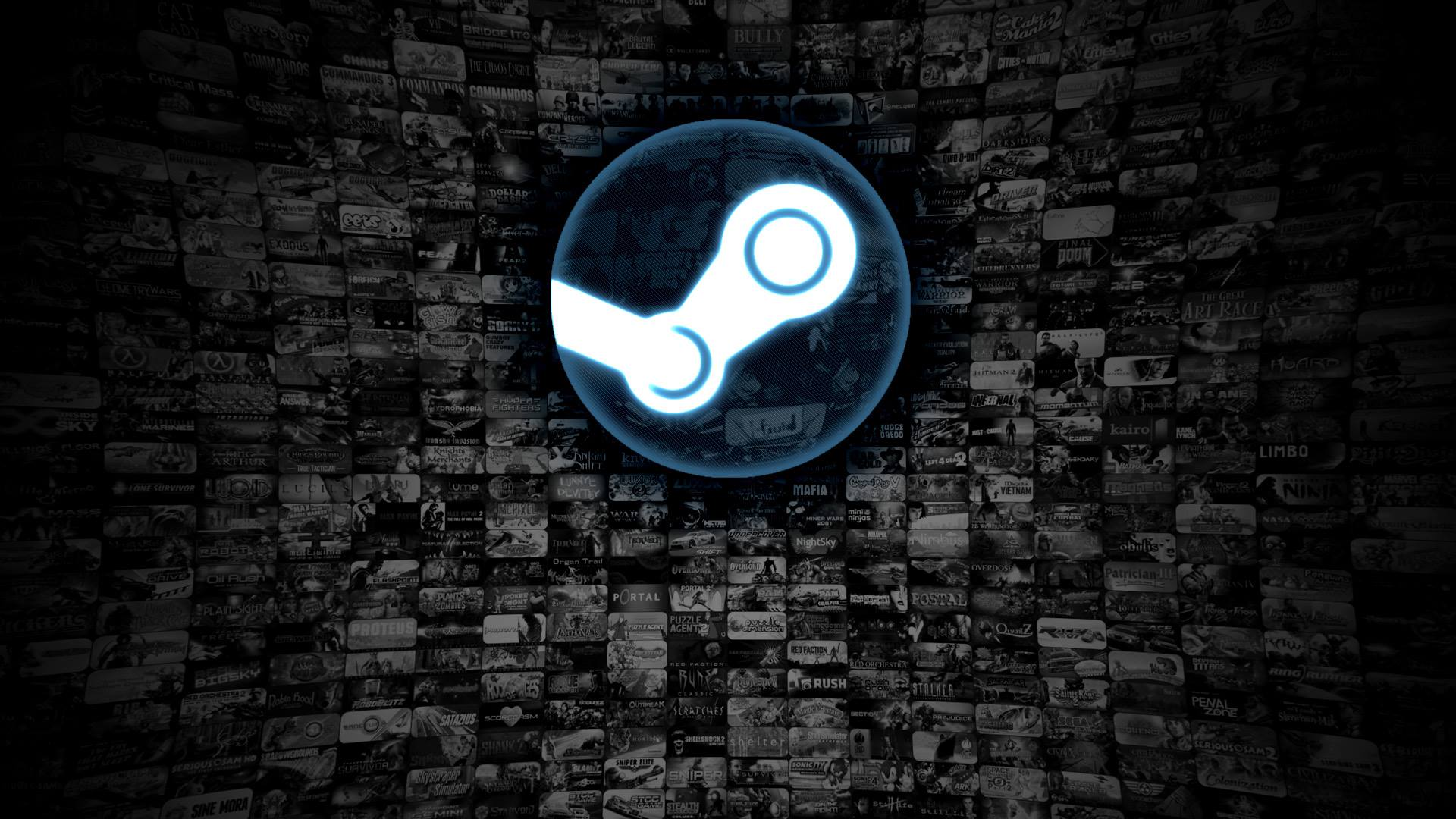 Le logo de Steam, le service de Valve