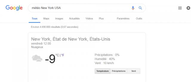 13 astuces pour aller plus loin avec la recherche google - A quel heure le soleil se couche ...