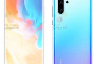 Le Huawei P30 Pro s'exhibe de nouveau au travers de plusieurs rendus