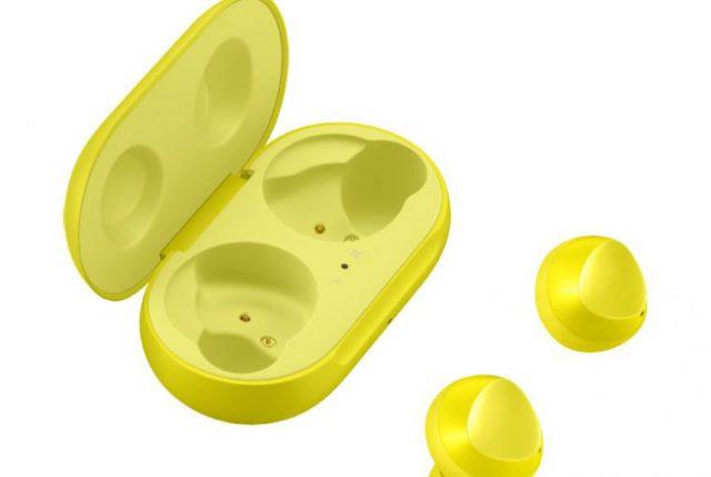 Galaxy Buds jaune : image 1