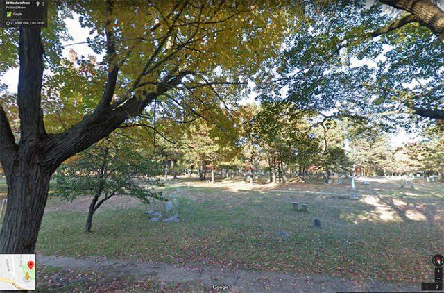 Western Cemetery à Portland