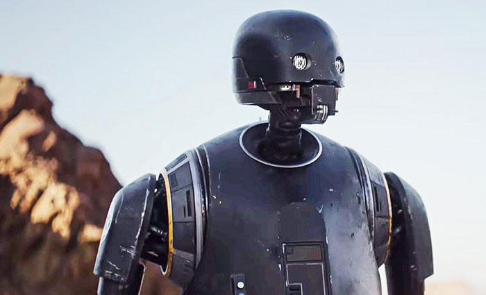 Star Wars : K-2SO de retour dans la série sur Cassian Andor ?