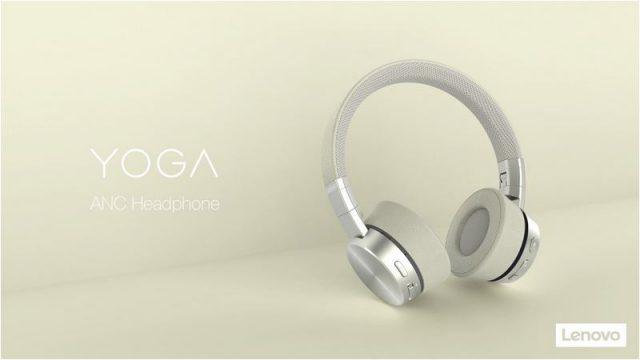 [MWC2019] Lenovo vient de présenter deux casques audio : le Lenovo Thinkpad X1 et le Yoga