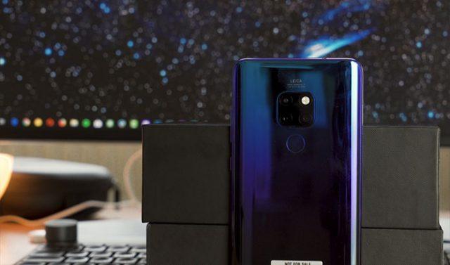 Prise en main du Huawei Mate 20 : image 2