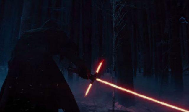 Sabre laser rouge