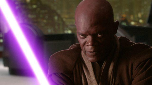 sabre laser violet